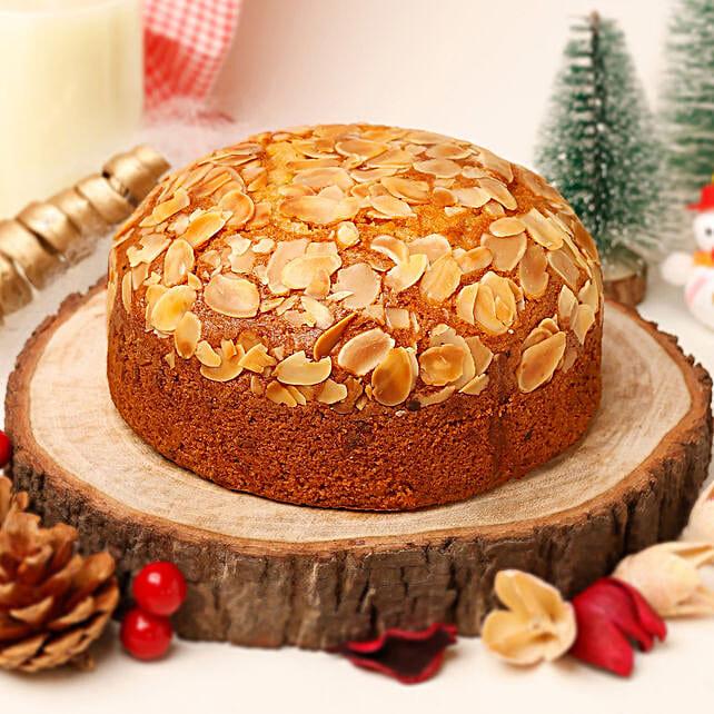Delicious Almond Dry Cake- 500 gms: Buy Plum Cakes