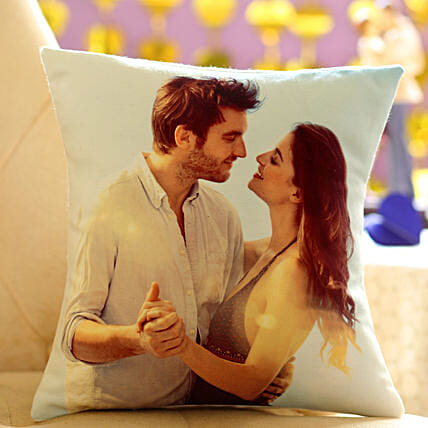 Personalized Cushion Gift: Send Marriage Anniversary Gifts for Wife