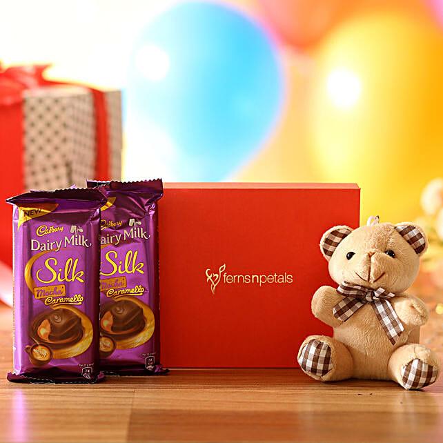 Cuddly Bear & Mocha Caramello Chocolate: Cadbury Chocolates