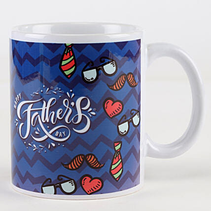 Vibrant Father's Day Mug: Gifts For Fathers Day From Daughter