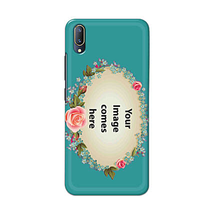 Vivo V11 Pro Customised Floral Mobile Case: Personalised Vivo Mobile Covers