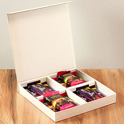 White FNP Box Of Chocolates: Gift Ideas