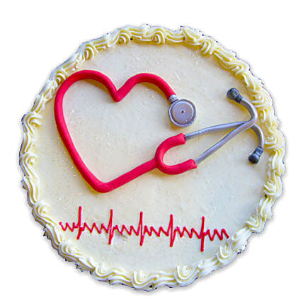 With Love To Doctor: Send Designer Cakes