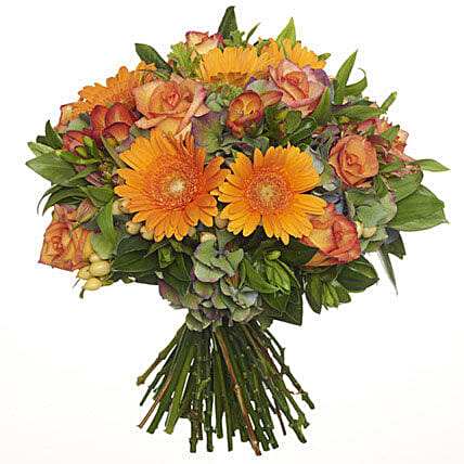 Bright Citrus Bouquet: Gift Delivery in Auckland
