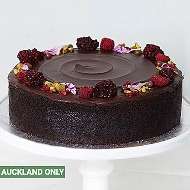 Mini Dark Chocolate Cake Delivery In New Zealand