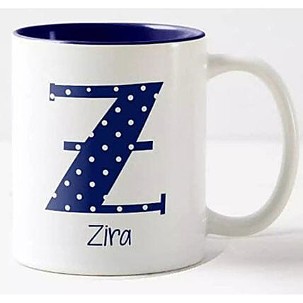 Pretty Initial And Name Personalized Mug: Personalised Gifts Philippines
