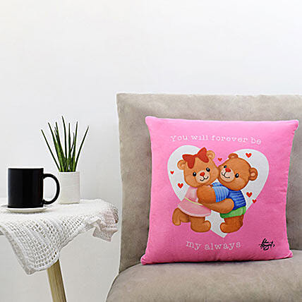 Sweet Embrace Pink Pillow: Personalised Gifts Items Philippines