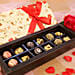 cute shape chocolates for her