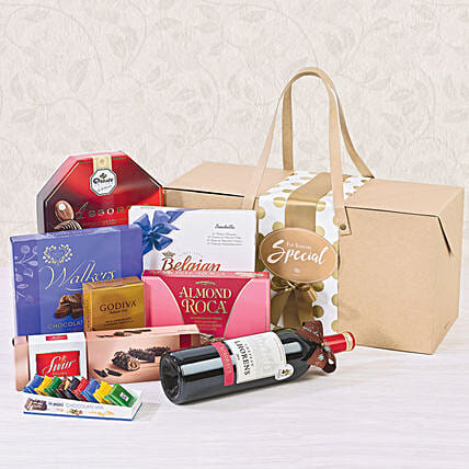 Chocolate Rush Hamper: Karwa Chauth Gifts to Singapore
