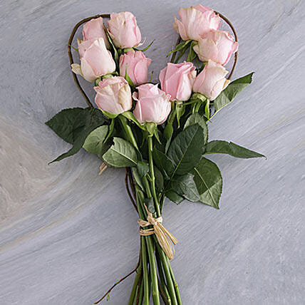 Pink Heart Bouquet: Gift Delivery in South Africa