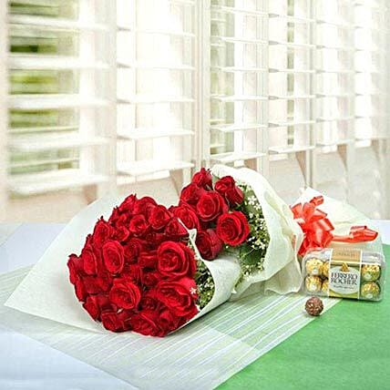 Elegant Gift For The Occasion: Send Flowers N Chocolates to UAE