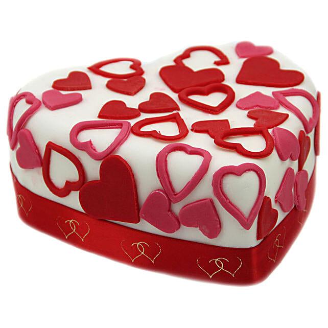 Love Tweet Heart Cake Birthday Delivery In UK