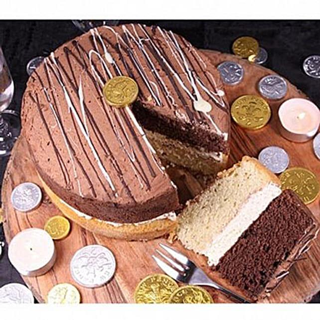 Millionaires Sponge Cake: Order Cakes to UK