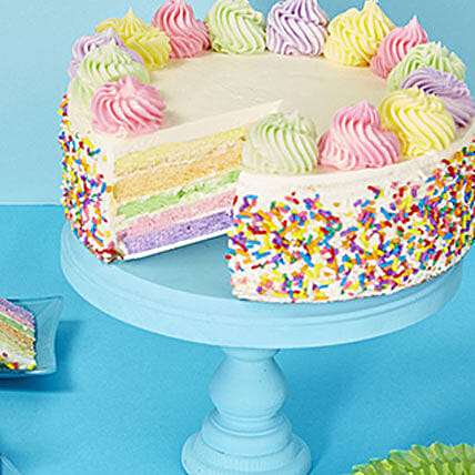 Rainbow Cake Delivery In USA
