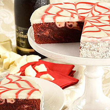 Red Velvet Brownie Cake Delivery In USA