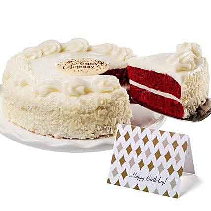 Red Velvet Chocolate Cake Birthday Gifts To USA