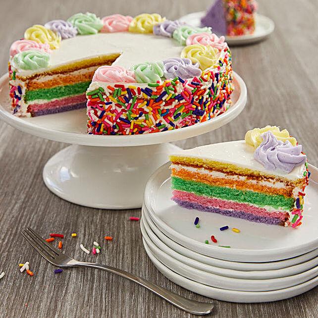 Rainbow Cake: Cakes for Birthday