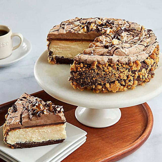 Vesuvius Cake: Send Birthday Cakes to USA
