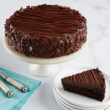 Triple Chocolate Enrobed Brownie Cake: Best Selling Cakes in USA
