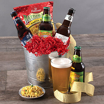 Party Bucket: Send Wine Hampers to USA