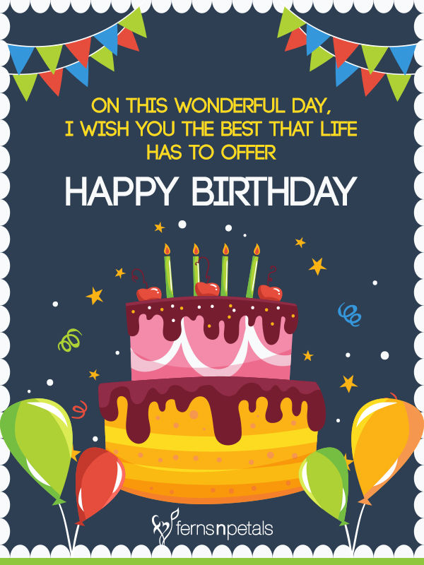 Happy Birthday Wishes Pictures Photos Images And Pics: 30+ Best Happy Birthday Wishes, Quotes & Messages