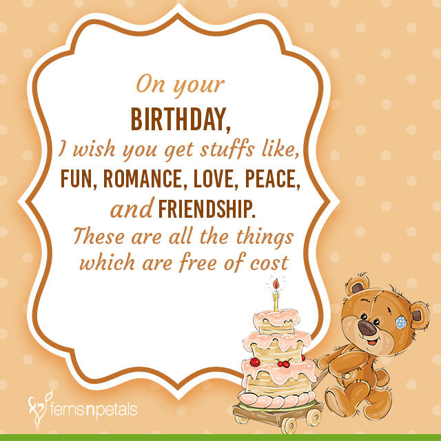 30 Best Happy Birthday Wishes Quotes Messages Ferns N