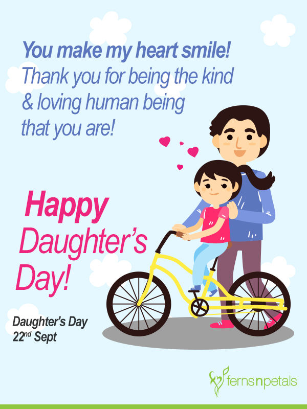 best daughters day wishes iamges