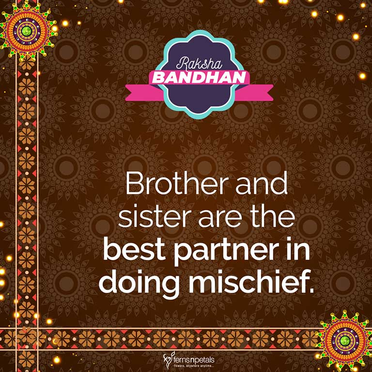 50+ Happy Raksha Bandhan/Rakhi Quotes, Wishes, Status For