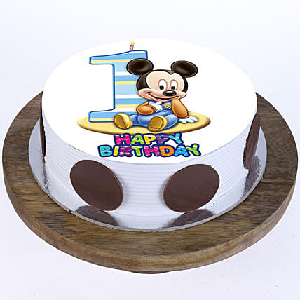 Strange Mickey Mouse Twin Double Large Name Personalised Birthday Cake Personalised Birthday Cards Petedlily Jamesorg