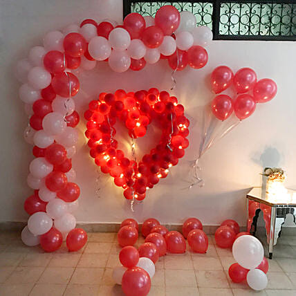 Unique Top Balloon Heart Shape LOVE Birthday Wedding Anniversary Party Decor