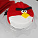 Angry Bird Fondant Chocolate Cake 1kg
