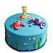 Baby Sea Animals Cake 3kg Vanilla