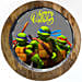 Ninja Turtles Chocolate Truffle Photo Cake- 1 Kg Eggless